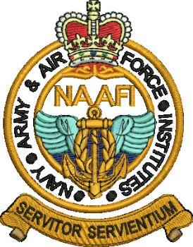 NAAFI Badge embroidered polo shirt